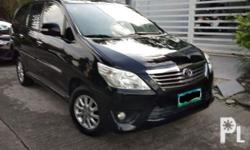 Toyota innova v automatic diesel 2013 54tKm No any issue  No any accident Not flooded Freshness unit . Clean papers