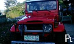 1975 model Fj40 4x4 Big tires All stock w/AirCon For more info. call/text 09182932403
