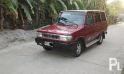 Toyota tamaraw fx GL diesel 2c diesel manual mdl 1995 GL no engine leaks  registered  complete papers  aircon needs belt and check up tested long drive
