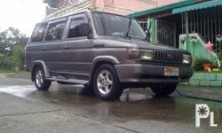 Description Make: Toyota Model: Tamaraw Mileage: 105 kilometers Year: 1995 Type of car: Other Condition: Used 1995 TOYOTA TAMARAW FX GL DIESEL ENGINE SUPER TIPID FAMILY USED ONLY POWER STEARING/DUAL AIRCON 100% NOT EX TAXI- NOT FLOODED SMOOTH ENGINE AND