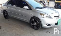 TOYOTA VIOS 1.5G 201. MATIC 2010 Complete legal papers  Registered until may 2019  No lto or hpg alarm presentable paint Fresh and silent engine  Orig 75xxx mileage Good running condition Tested for long drive  Fuel efficient Original TRD mags with almost