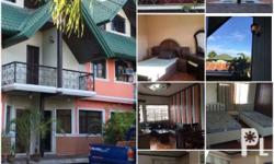 2 storey fully furnish apartment for rent near malls , church , schools with spacious. Garage