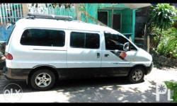Hyundai Starex Jumbo Edition 2008 Model Can Accomodate 12-15 Passenger Strong Dual Air Condition Diesel Engine Manual Transmission Good Running Condition Well Maintained Turbo No issues No accident History Price: P 290,000 Negotiable pa Those interested