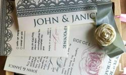 Get amazing wedding invitations for your wedding in the Philippines. Simply tell us your wedding theme and we prepare up to 3 designs for you! Website http://weddingsouvenirphilippines.com