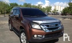 For sale! Fixed price 180,000  My Isuzu MU-X LS-A SUV 2016 model 3.0L Diesel engine 4x2 Automatic transmission All power Central locking system Updated LTO registration Cool air con  Excellent condition