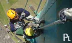 Industrial Rope Access Ropeworks Climbing Consultancy Service was established in 2003 by Riggz Santos with the aim of developing methods for working at heights for telecommunications workers and eventually applying them to a variety of industrial and