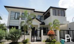 FLOOR AREA = 197 SQM. 4 BEDROOMS 3 BATHROOMS FURNISHED AIR CONDITIONED BEDROOMS with Garage - - - - -