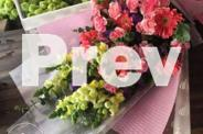 flower box and bouquets