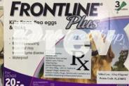 FRONTLINE PLUS! Kills Fleas Flea Eggs and Tick