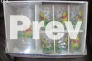 Gift Set/ Winnie the Pooh/ Glass Pitcher with 6
