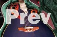 Ovation Celebrity ElectroAcoustic Guitar with Hard Case