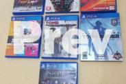 PS4 500 GB (7 Authentic Games)