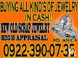 BUYING ALL KINDS OF JEWELRY IN CASH BASIS GOLD/WHITE