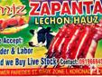 M.J.Z. Zapanta Lechon Hauz The #1 Lechon Dealer in