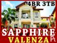 SAPPHIRE | CROWN ASIA VALENZA - PRIME HOUSE AND LOT FOR