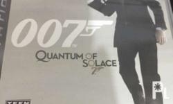 007 James Bond: Quantum of Solace PS3 All complete No