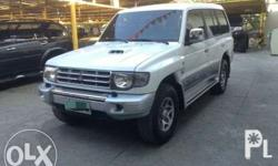 01Mitsubishi pajero fieldmaster local unit not surplus