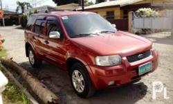 Gawin: Ford Modelo: Escape Mileage: 78,000 Kms Taon: