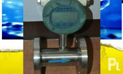 "1-1/2"" stainless body LCD display water flow meter (for"