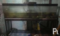 Selling my 100 gal aquarium with its metal stand for