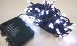 Features: Waterproof battery powered String Light Body