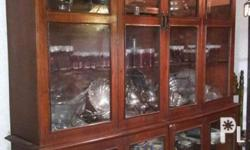 10 ft. Classic design China cabinet, Height: 94 inches