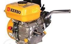 Brand new 10hp gasoline pump boat engine. 4 stroke.