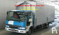 We offer wing van trucking services for any provincial