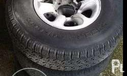 For pajero 10K Rims only with center caps Mitsubishi