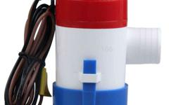 1100GPH High Flow Submersible Marine Boat Electric