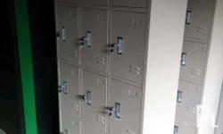 AS-031 Twelve door lockers designed for office use.