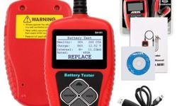 12V Battery Diagnostic Analyzer It check battery health
