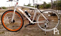 FORSALE BIKE DOUPEL GANGER FOR ONLY 13K.....ALLOY FRAME