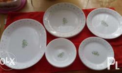 14 pieces set of Corelle dinnerware bought in USA 1 -