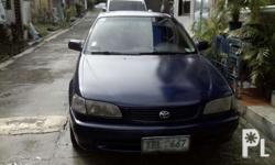 Toyota corolla xl 2002 model Manual 1.3 engine Cold