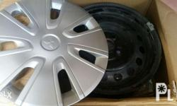 Mirage g4 stock rims 1month used, palit na mags 100% no