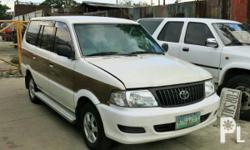 Vehicle Options 2000 Toyota Revo Year: 2000 Mileage:
