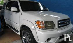Vehicle Options 2001 Toyota Sequoia Year: 2001 Mileage: