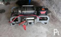 15000lbs warn winch in great working condition,with