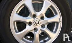 15 Inch 2016 Honda Mobilio Mags 4x100pcd 185 65 Dunlop Tires 99