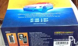 Remote start and car alarm for sale, unit only no