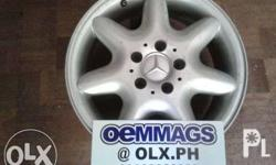 16'' x 5H x PCD 112 FULL SILVER Price P24,000/ set of 4