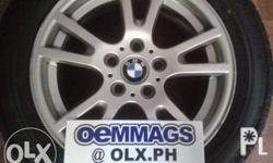 "BMW OEM Germany Mags 17"" x 5H x 8.5"" x PCD 120 et46 fit"