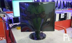 For Sale 17 inch Lcd Monitor Color Black Assorted