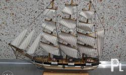 17-inch tall model ship Pride of Baltimore II ..from