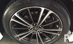 17s gt86 mags With original michelin tires Used for 10k