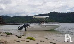 Very good condition 90hp nissan marine all wood