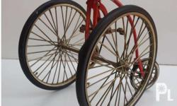 1886 Victor High Wheel Inspired Display Bike Hard to