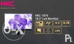 HKC 1876 HDMI LED Monitor Brand New Price : 3,400 php -
