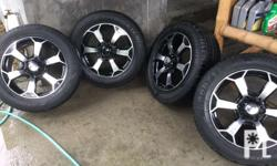 """For Sale 18"""" AWC Mags with Goodyear Efficient Grip SUV"""